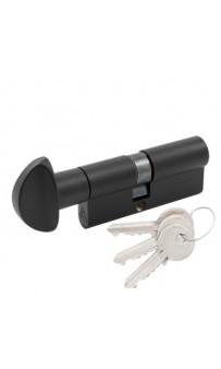 Цилиндр Cortelezzi 117F 40x30 ключ/поворот. черный