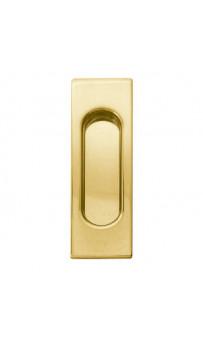 Ручка на раздвижную дверь Fimet 3663A F01 полированная латунь