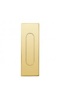 Ручка на раздвижную дверь Fimet 3663AS F01 полированная латунь