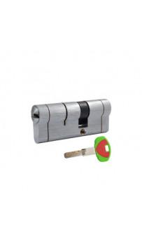 Цилиндр Securemme 3220СCS30451X5 К22 30/45 мм 5кл +1 монтажный ключ, матовый хром