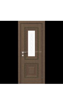 Межкомнатная дверь Versal Esmi, Орех классический Rodos